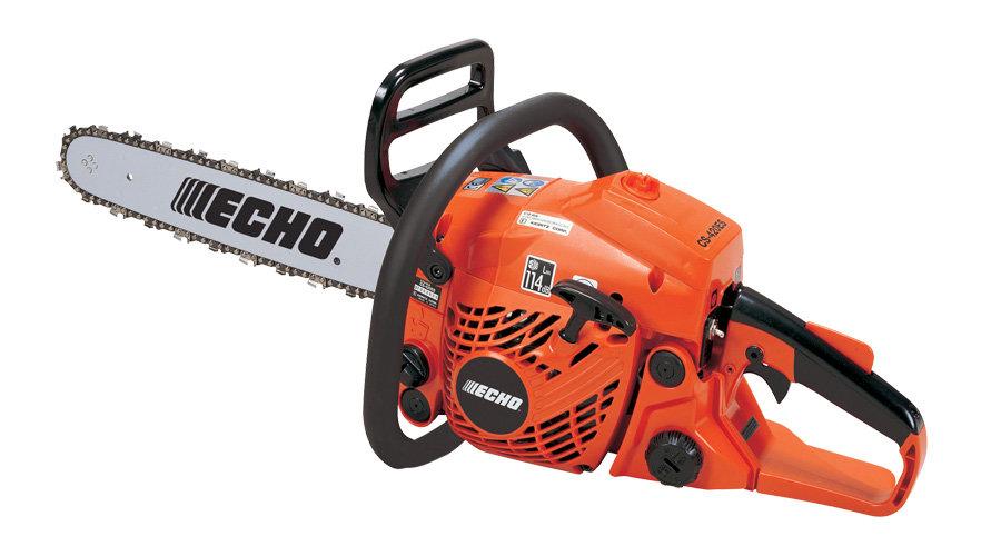 """Echo CS-420ES 17""""petrol 2 stroke chainsaw"""