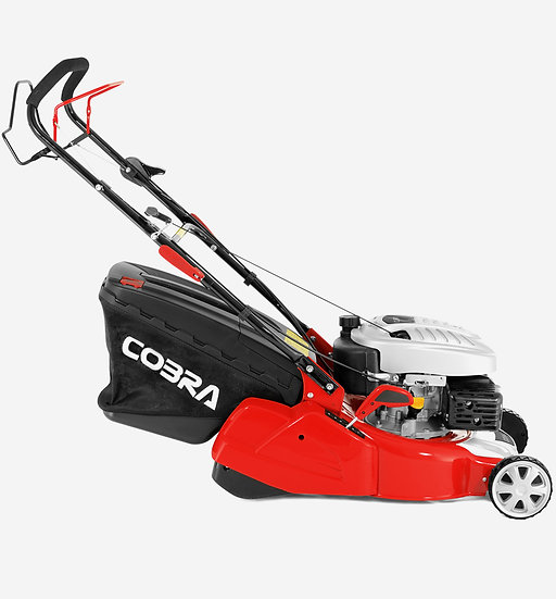 "RM40SPC 16"" Cobra self propelled petrol rear roller mower"