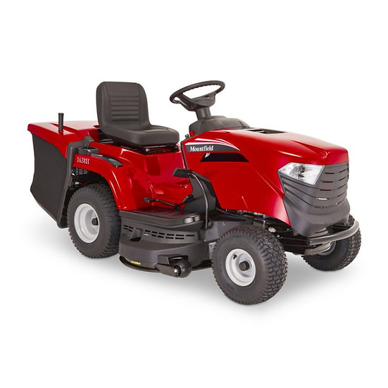 Mountfield 1638H collecting lawn tractor 98cm
