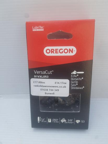 """Oregon VersaCut 91VXL053 chainsaw chain 3/8"""" LP 1.3mm 53 drive link"""