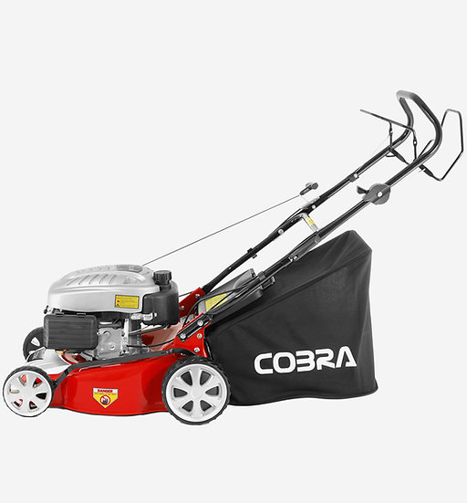 "Cobra M40SPC self propelled 16"" petrol 4 stroke lawn mower with Cobra engine"
