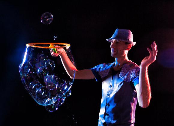 Mega bubble party