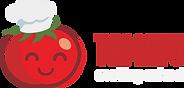 Tomato logo apron print.png