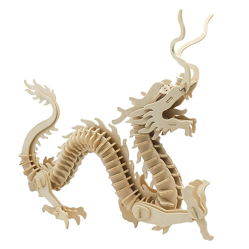 BIG wooden dragon 3D puzzle