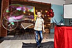 kids bubbl show on birthda party
