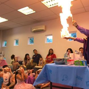 Pony magic fire