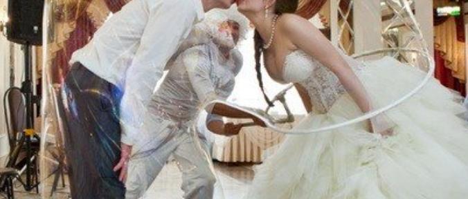 Wedding bubble show