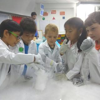 Dry ice creation