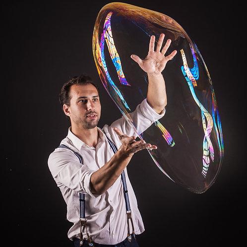 Magic bubble party