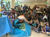 Mermaid show