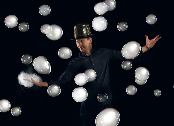 Bubble show for adults