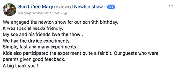 camp review in Facebook