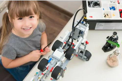 LEGO robotics (5 y.o. to 6 y.o.), 8-week course, weekly