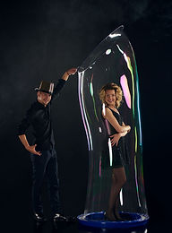 Adult bubble show in Singapore