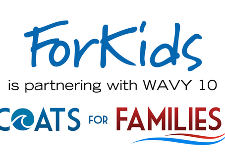 ForKids to Distribute Coats for WAVY Coats for Families Drive