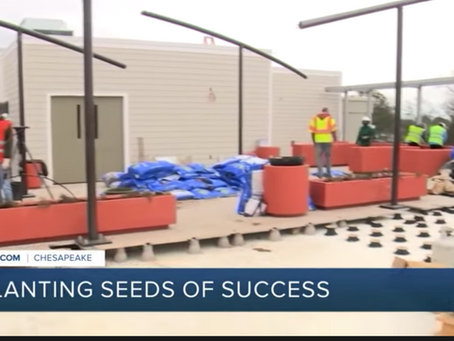 ForKids rooftop orchard provides relief for families in need