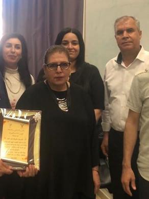 أمال عوّاد رضوان: أمّ الفحم تكرّم الكاتبة عايدة نصرالله