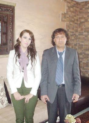 حاتم جوعية - فلسطين: لقاء مع الأديبة د. ميساء الصحّ