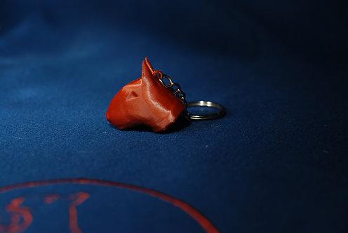 Bulík - Přívěšek na klíče - hlava - 40mm