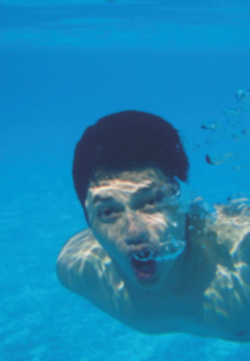 swimming with ICL