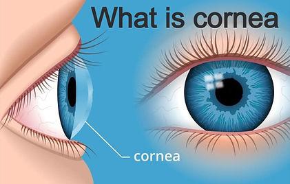 What is cornea image