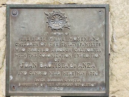 Historic Markers at SB Courthouse Celebrate Colonial Exploits of 'White Men...White Women, Children'