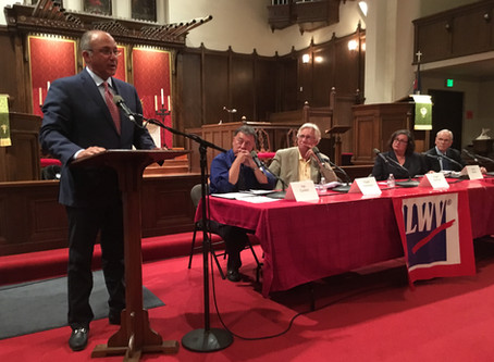 The Key Moment in Round 2 Mayoral Debate