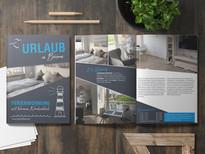 Werbefräulein Broschüre Design