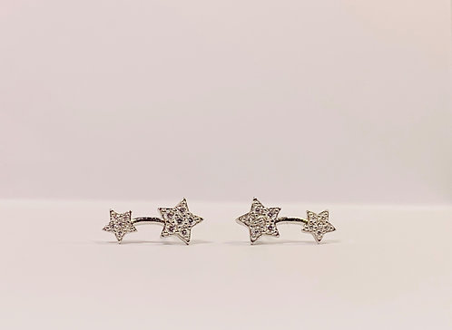 Sterling Silver Shooting Star