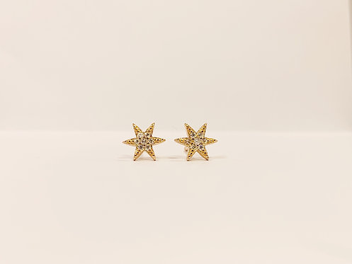 Rose Gold - Sterling Silver Star