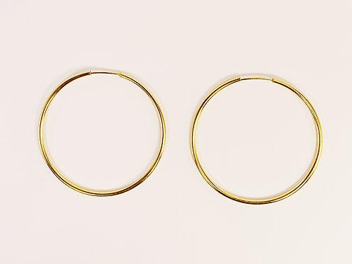 Dainty Gold Hoop