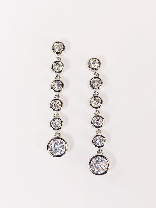Sterling Silver - CZ Drop