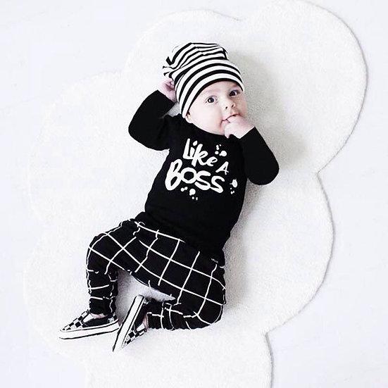 Baby Boy Clothes Set Pants + Shirt