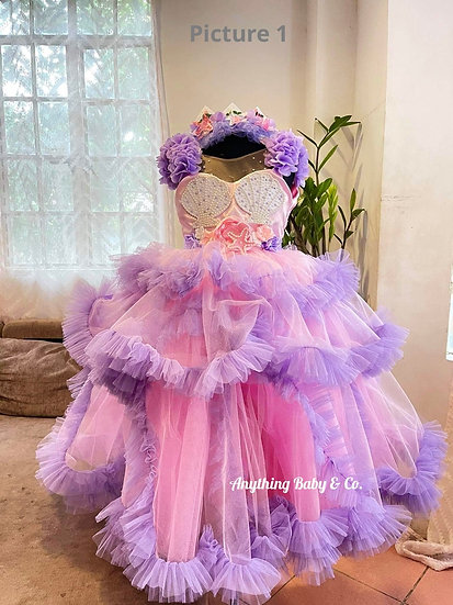 Baby Mermaid Gowns  (made-to-order)