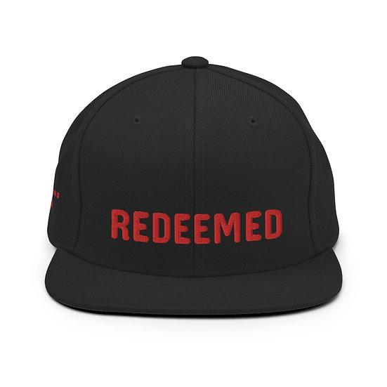 Redeemed Red Snapback Hat