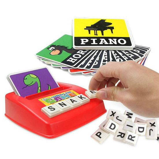 Alphabet Letters Spelling Game Cards