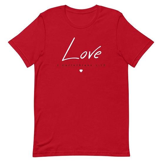 1 Corinthians 1:13 Love T-Shirt