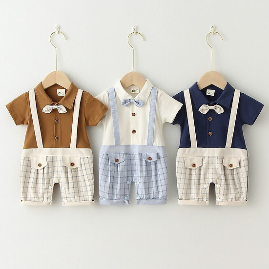 Infant Cotton Baby Boy Rompers