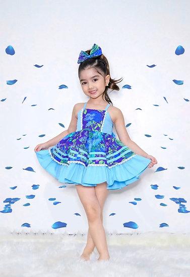 Delia Doll Dress Blue by Little & Miss