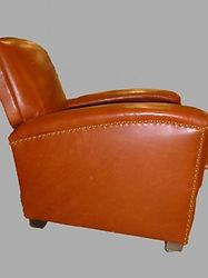 Rénovation et repigmlentation de canapé et fauteuil cuir