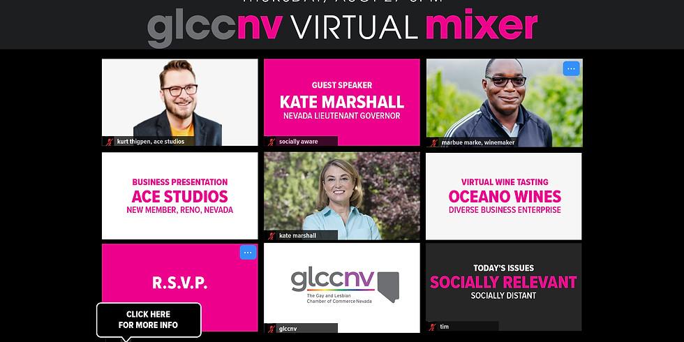 GLCCNV Virtual Mixer & Wine Tasting