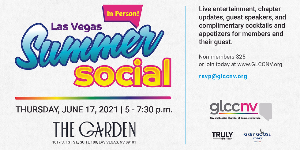 Las Vegas Summer Mixer ~ IN PERSON!
