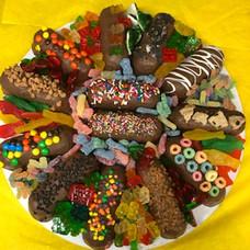 Custom Chocolate Covered Twinkie Tray