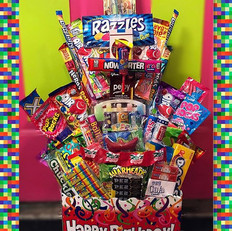 Sweeties has an assortment of gift baske