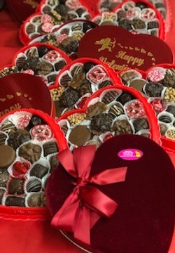 One Pound Heart Boxes