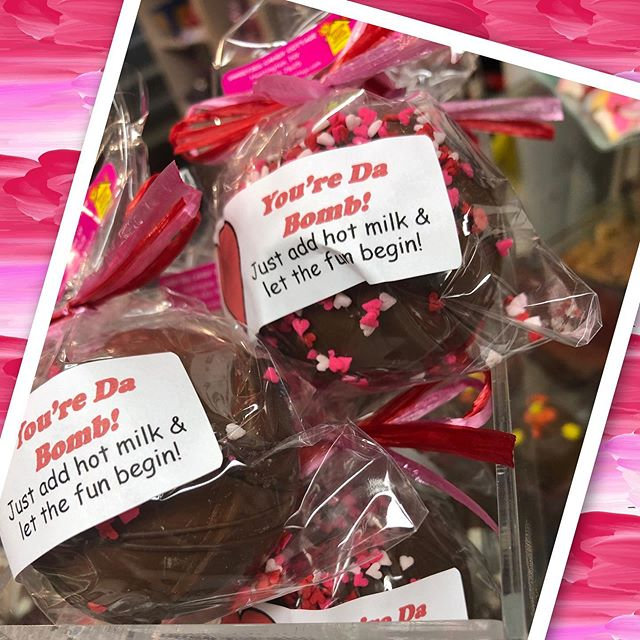 Valentine's Day Chocolate Bombs