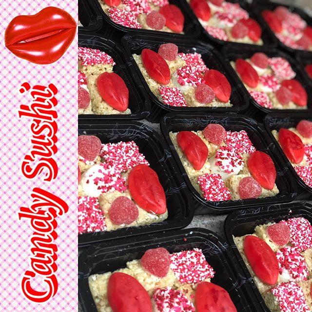 Candy Sushi for your love ❤️🍣 Dinner&Ca