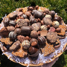 Handmade Chocolate Tray