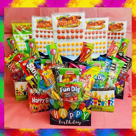 All Occasion Candy Baskets
