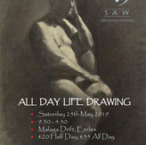 """""""All Day Life Drawing"""" poster, 2019"""